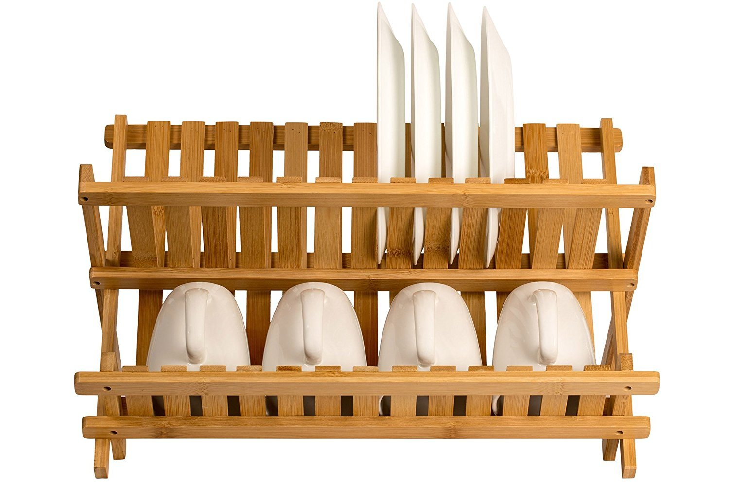 China Wooden Dish Rack Plate Rack Collapsible Compact Dish Drying Rack Bamboo Dish Drainer - China Kitchen Rack Dish Rack  sc 1 st  Huizhou Minghou Houseware Co. Ltd. & China Wooden Dish Rack Plate Rack Collapsible Compact Dish Drying ...