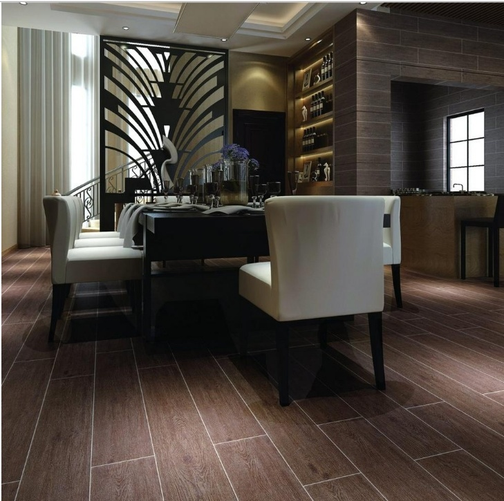Wood Plank Ceramic Floor Tile