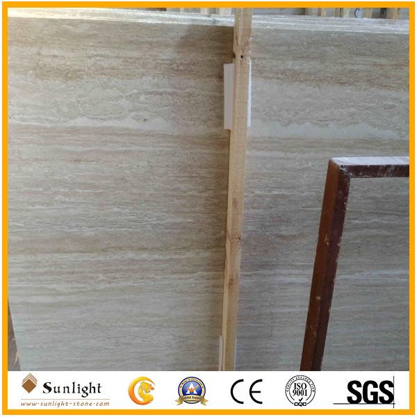 China Turkey Beigecream Travertine For Pavers Slabs Floor Tiles