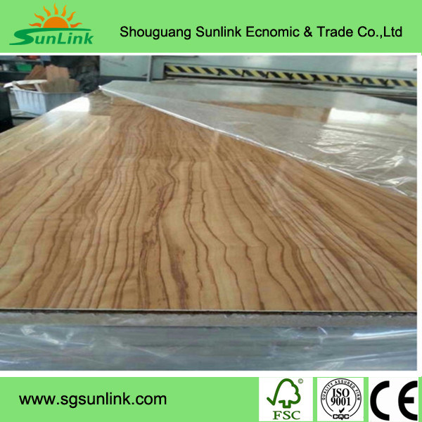 Melamine / UV-Coated MDF for Furniture with Free Sample