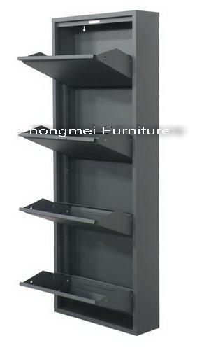 China Metal Shoe Cabinet (MSC-02) - China shoe cabinet, metal shoe