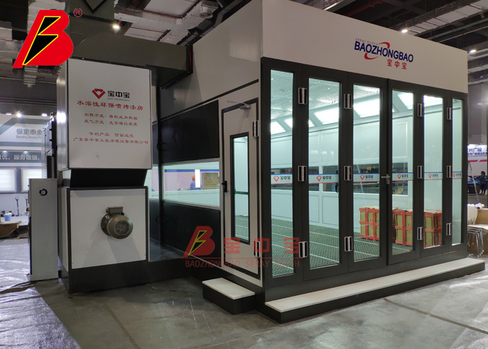 New Auto Spray Booth Entherdomic Panel Heat Paint Booth 2020 New Arrival