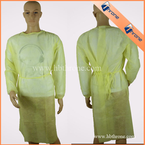 China Disposable Non-Woven Surgeon Gown - China Surgeon Gown, Non ...