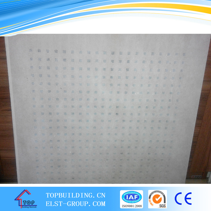 China Acoustic Perforated Gypsum Ceiling Tile Photos Pictures