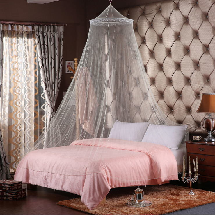 China Hanging Foldable Round Top, Queen Size Bed Hanging Canopy