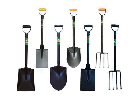 Metal Garden Snow Farming Square Shovel Spade Digging Tools