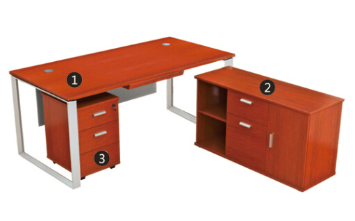 New Simple Design Right And Left Reverse Executive Desk Modern Price Office Table