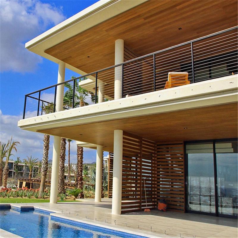 Modern Wooden Balcony 1