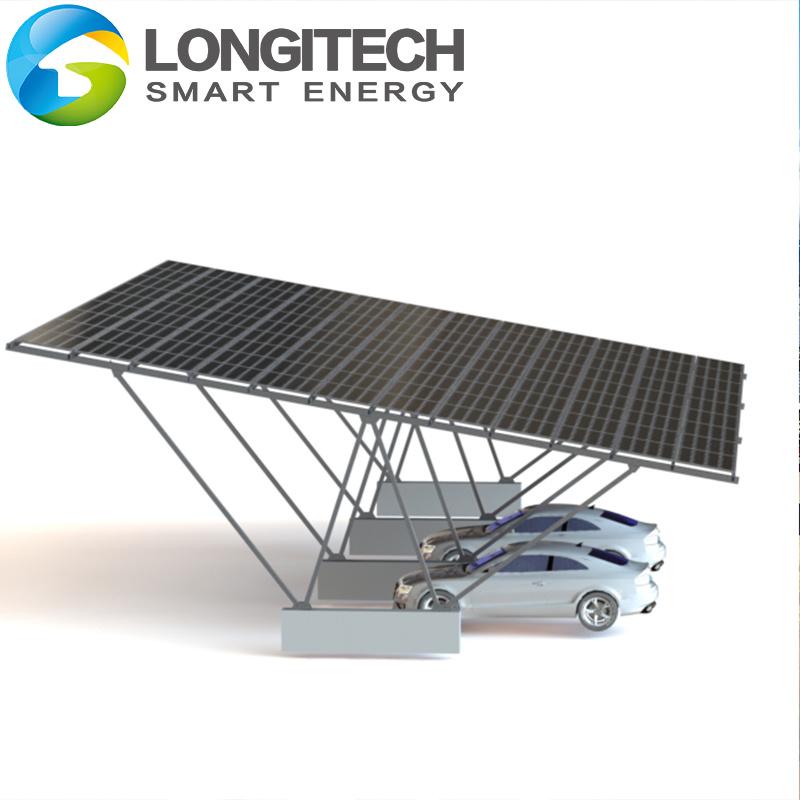 China Mounting Brackets Car Pv Parking, Garage Solar Power