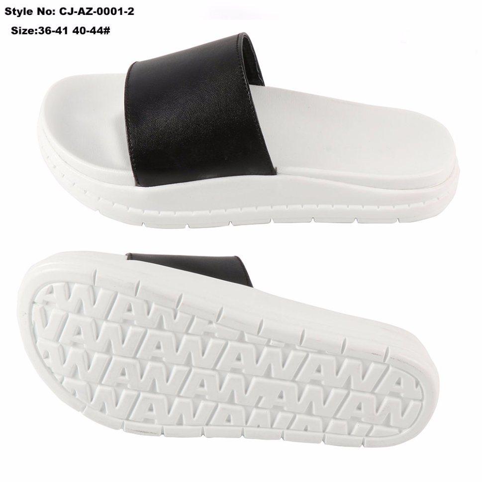 c1f9549448c7 China Good Quality Fashion PU Slide Sandal Slipper an-Ti Slip Photos ...
