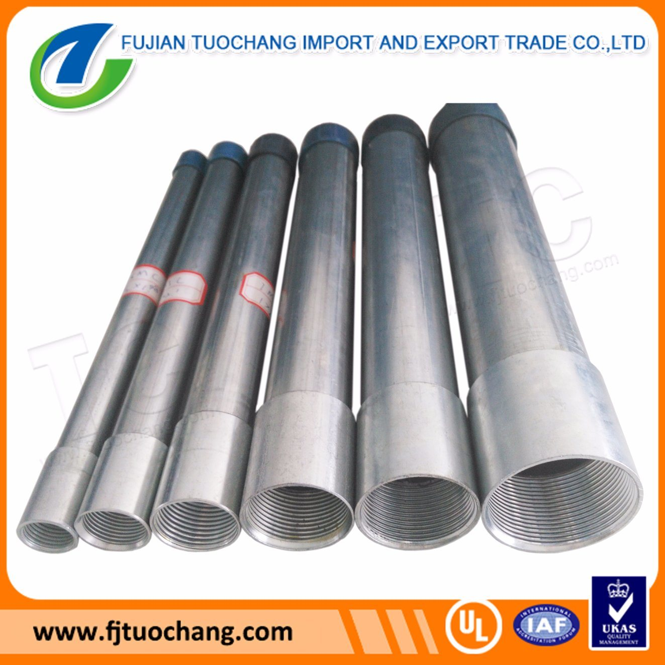 China 1 2 To 4 Gi Steel Imc Rmc Wire Conduit Ul1242 Rigid Wiring Carbon Pipe