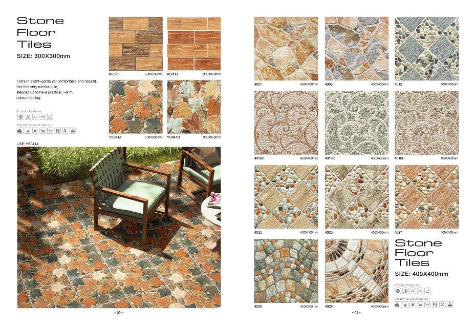 China 300x300 Ceramic Floor Tile Stone