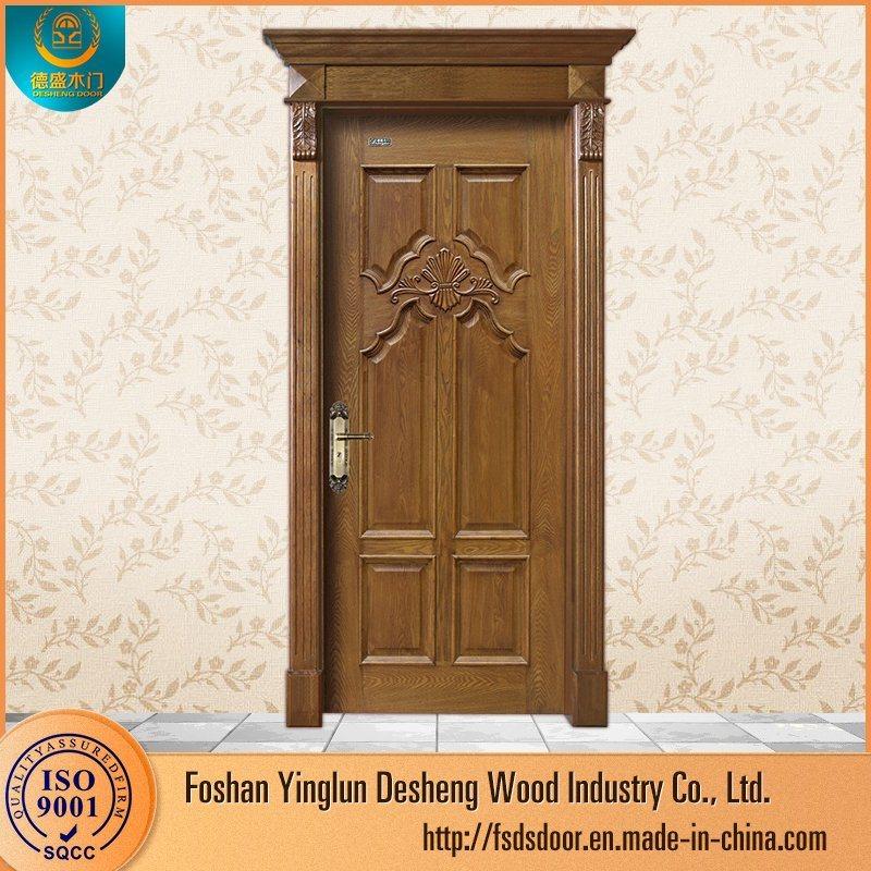 China Desheng Wooden Double Door Designs For Houses Room In Kerala China Wooden Door Mdf Door,Duplex Apartment Design Plans