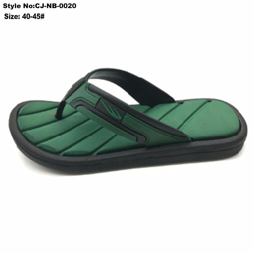 b4ea7f9db571a China EVA Green Sole Upper Sandals Men for Outdoor-Indoor Flip Flops Bath  Slipper - China Slipper