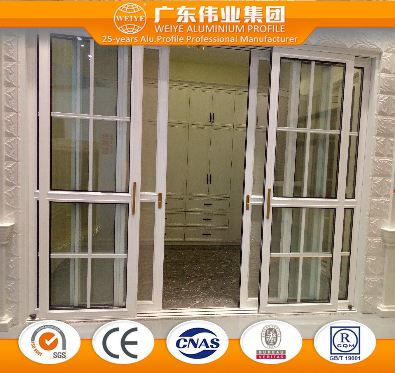 China Classic European Style Aluminium Sliding Door Photos