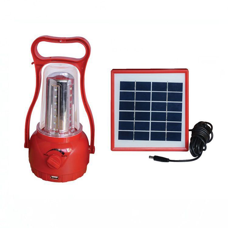 Low Price Portable Solar LED Rechargeable Camping Lantern for Africa pictures & photos