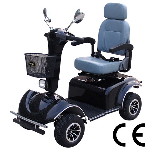 Electric 4-Wheel Mobility Scooter Handicapped Scooter