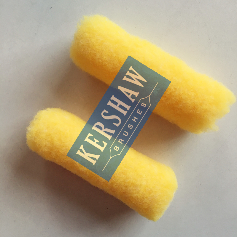 Paint Roller (YELLOW Polyester MINI SLEEVE)