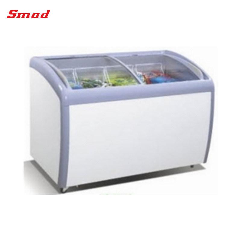 China Glass Door Display Chest Freezer For Ice Cream For Usa China