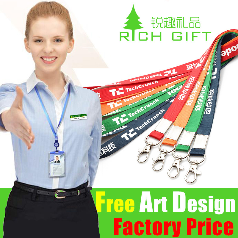 High Quality Custom Printed Polyster Neck Strap Lanyards pictures & photos
