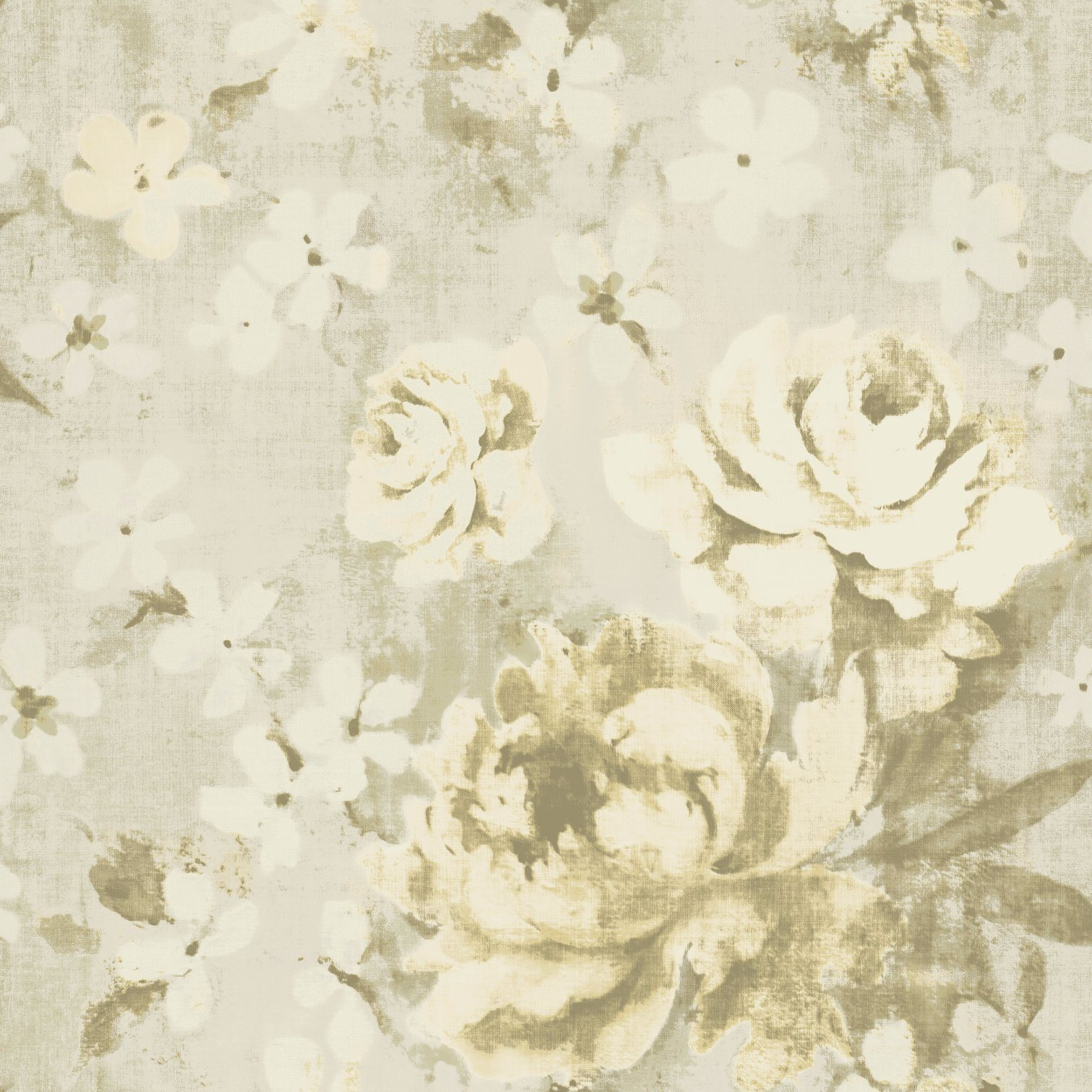 China Textured Wallpaper Flower Pattern Design 220 240g Sqm 53cm
