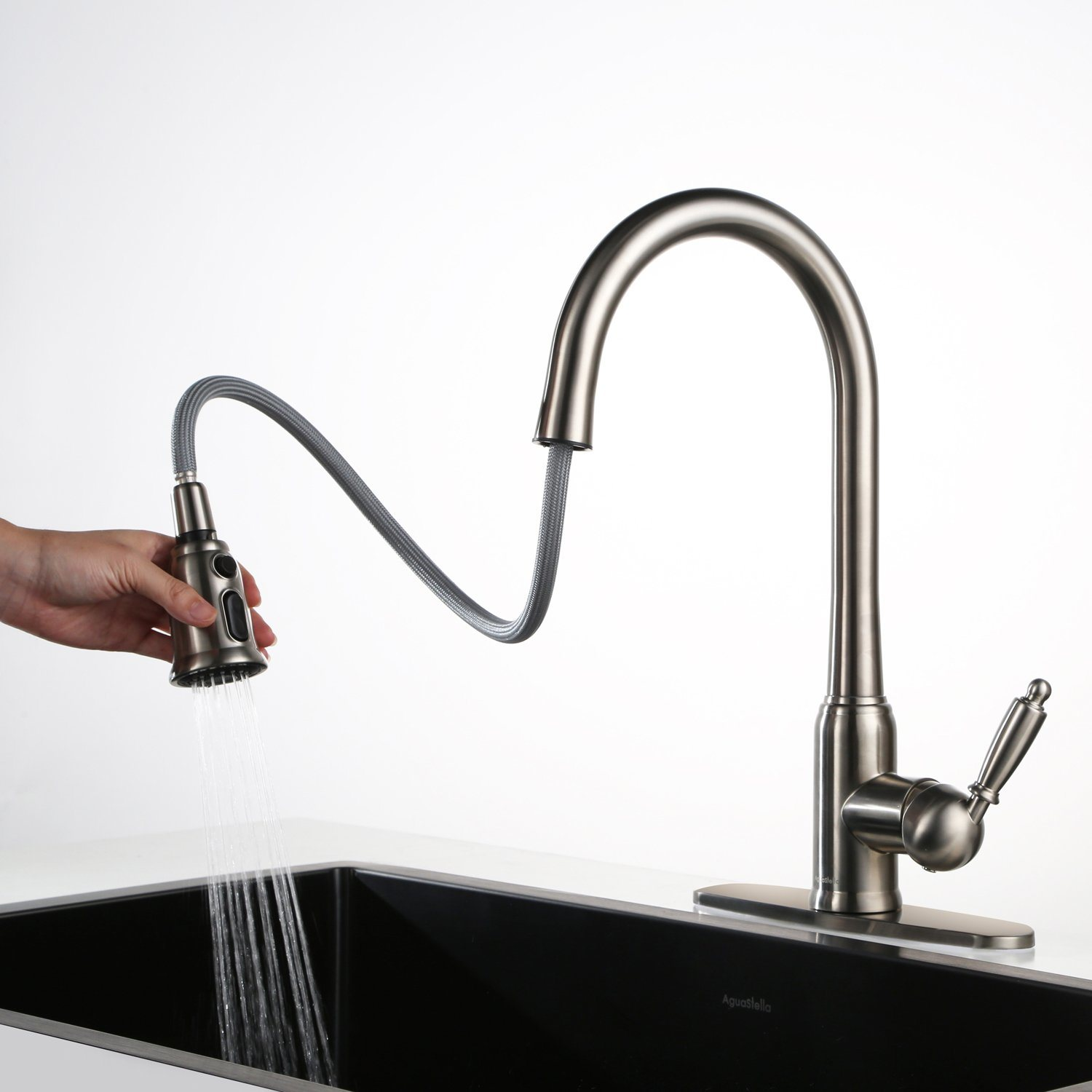 USA Flexible Hose Water Tap Brass Kitchen Faucet : kitchen faucets made in usa - hauntedcathouse.org