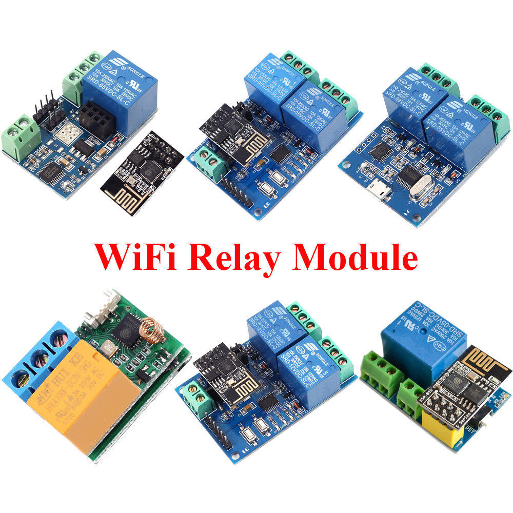 China Esp8266 5V 12V Iot WiFi Relay Module Remote Control