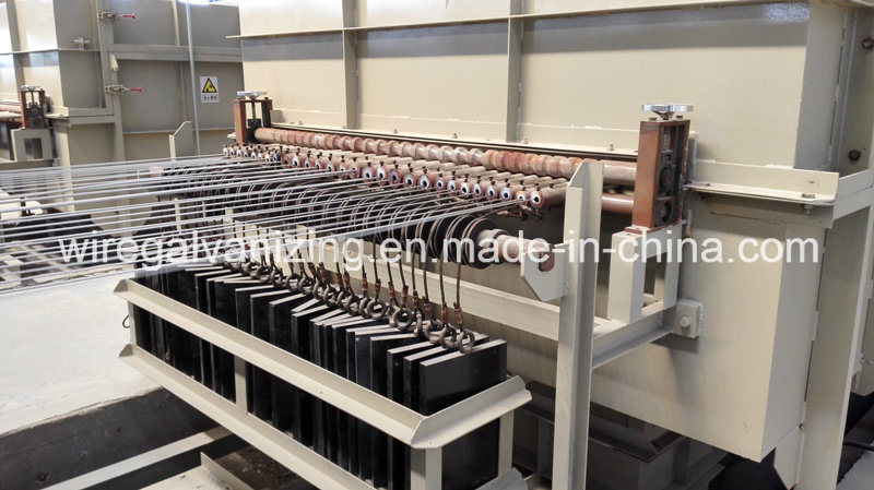 Steel Wire Electro Galvanizing Line with Ce Certified