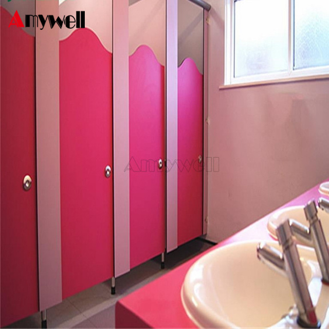 China Hot Sale Compact HPL School Toilet Washroom Partition for ...