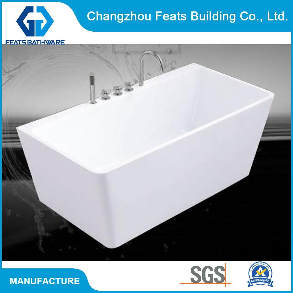 China New Zealand Hot Sale Freestanding Pure Acrylic Corner Bath ...