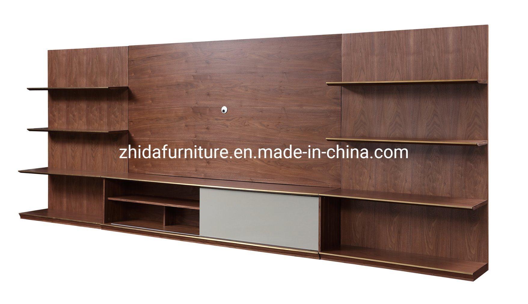 Hot Item Modern Wooden Living Room Furniture Tv Cabinet Stand
