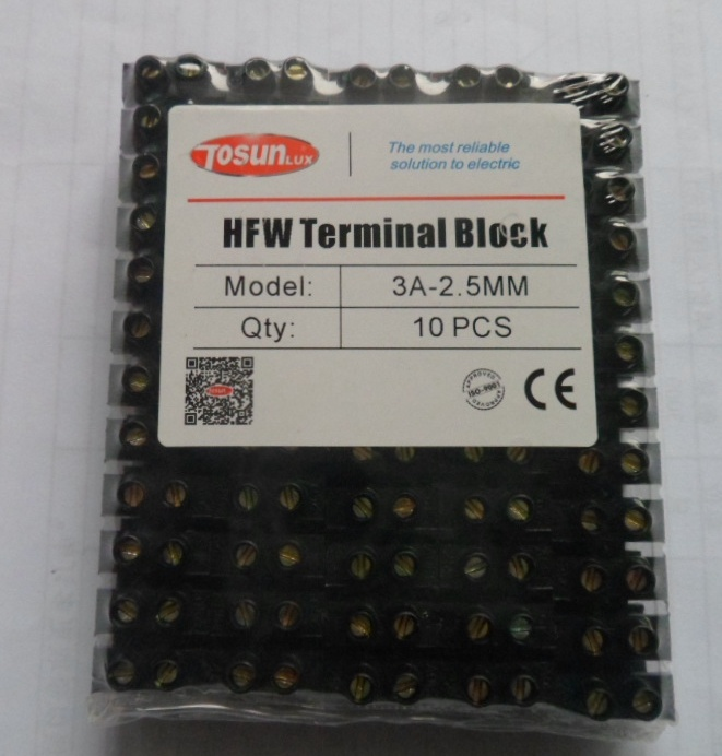 Screw Type PE Terminal Block pictures & photos