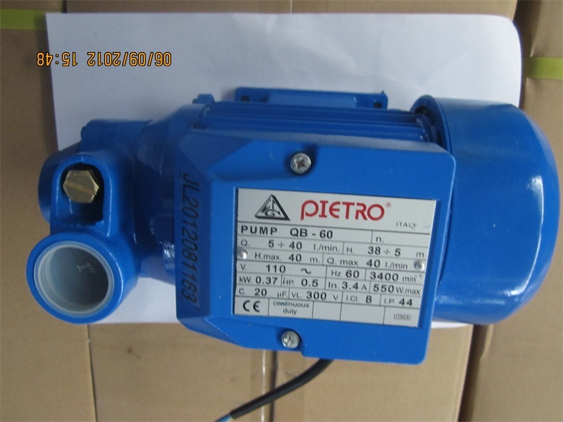 Qb Series 0.5HP Pedro Water Pump Booster Clean Water Pump pictures & photos