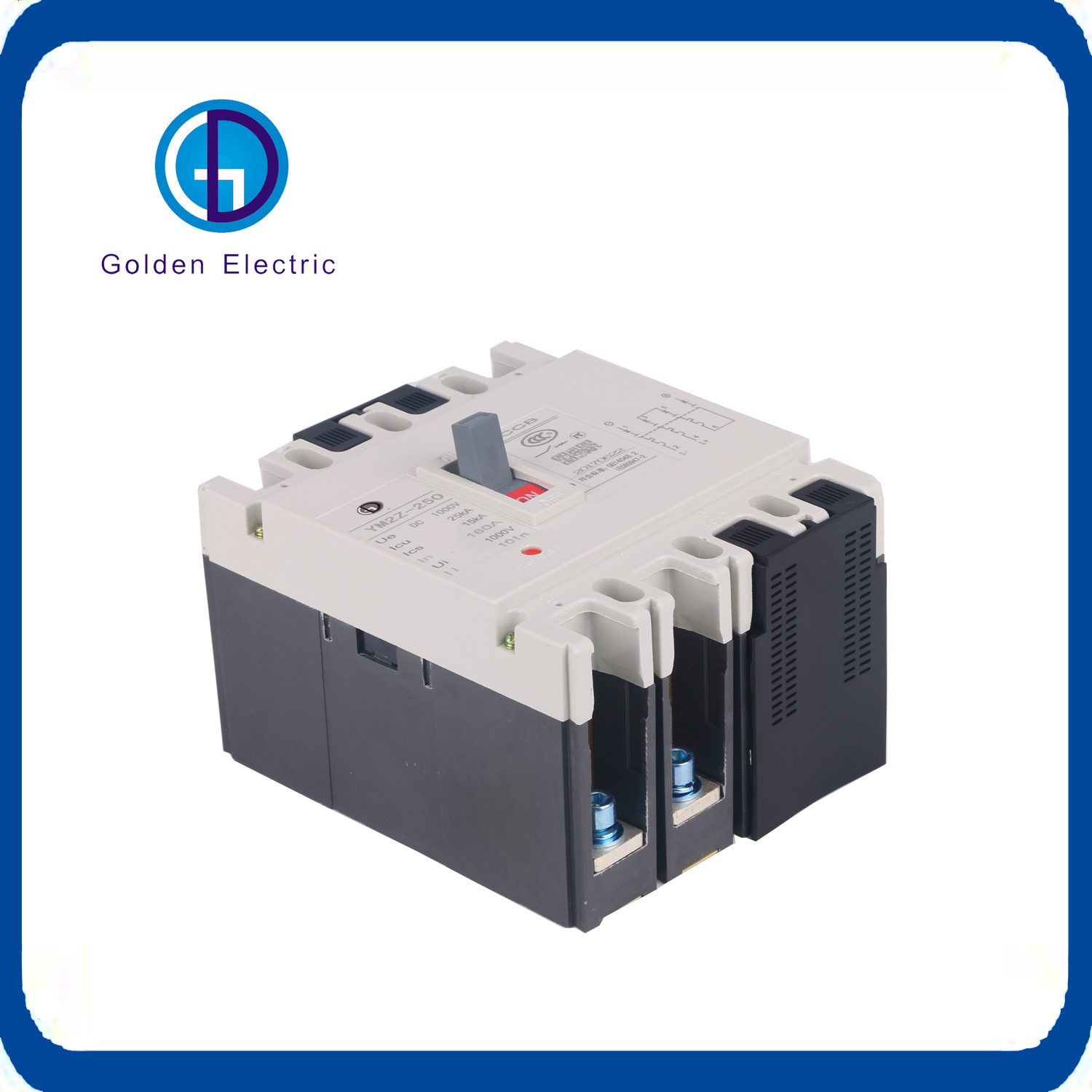 China Solar Energy 1000v 4pole Moulded Case Circuit Breaker Dc Mccb