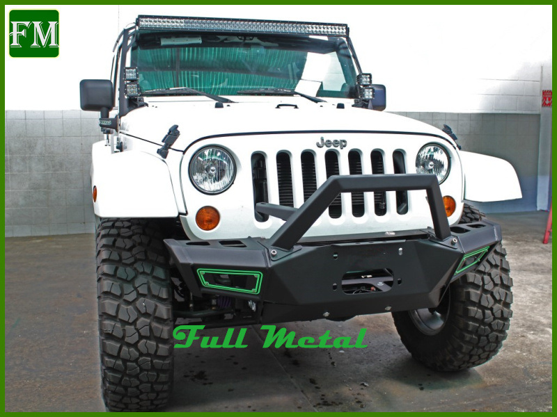 Black Metal Vpr Front Bumper Guard for Jeep Wrangler Jk Unlimited pictures & photos