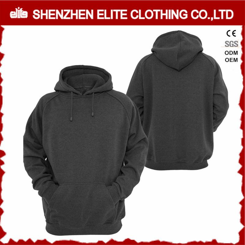 eccbdc999 China Top Selling Good Quality Dark Grey Custom Hoodies Oversize (ELTHI-33)  - China Latest Sweater Designs for Women, Men′s Shrug Sweater Hoodies