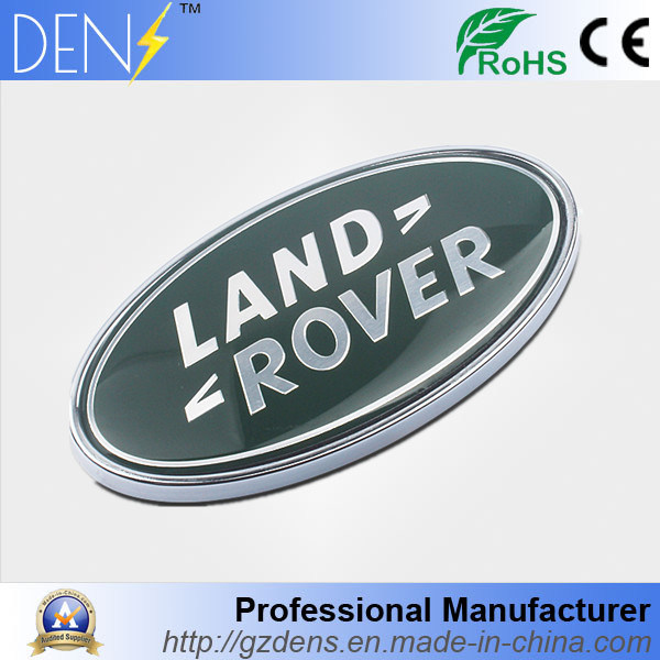 China Front Grille And Trunck Car Logo Badge For Land Rover China