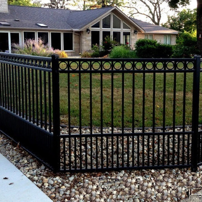 China Aluminum Fencing Steel Fence