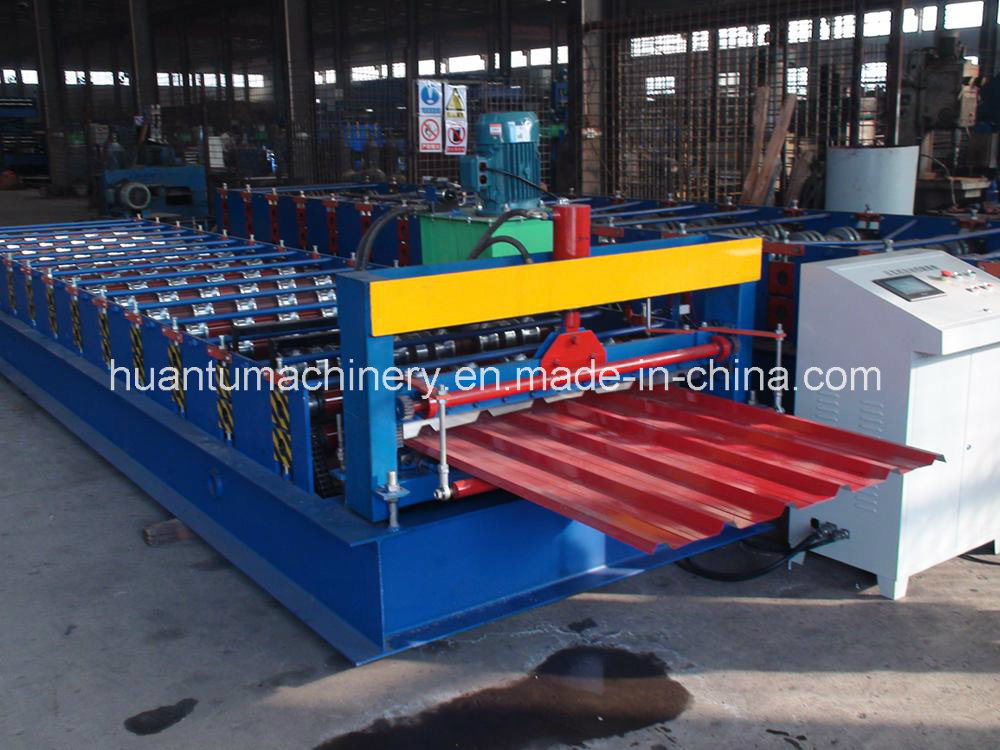 Keyu Double Roll Forming Machine for Roof and Wall