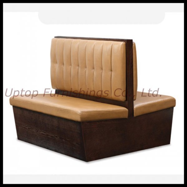China Modern Cafeteria Cafe Restaurant Solid Double Sided Soft Booth  (SP KS122)   China Restaurant Booth, Restaurant Sofa