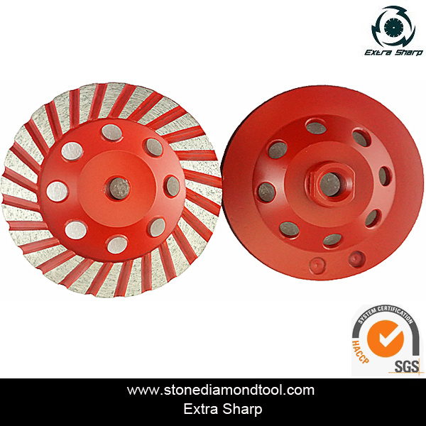 100mm Diamond Grinding Wheel for Marble/ Concrete/ Granite Polishing pictures & photos