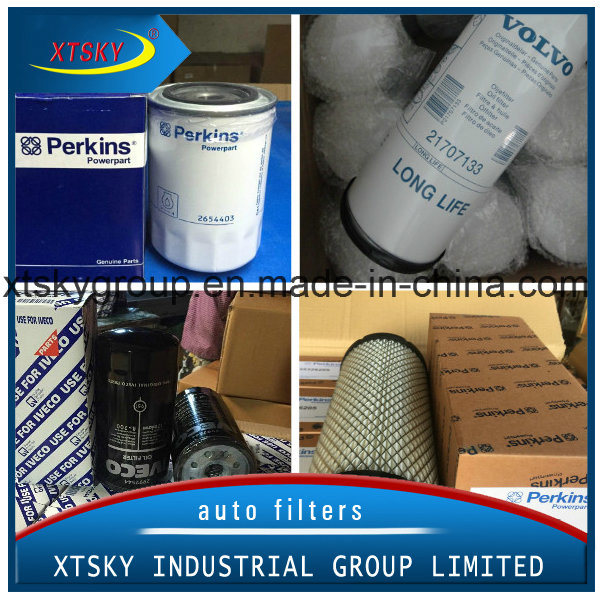 China Oil Filter And Air Filter With Brand Volvo Perkins
