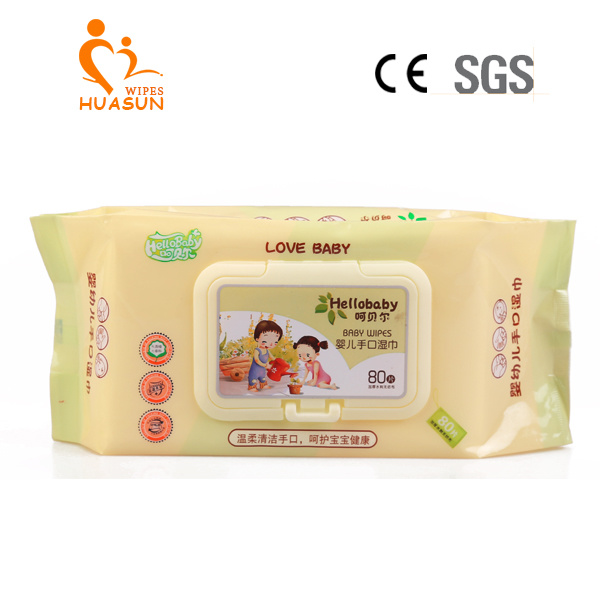 Baby Clean and Care Wipes pictures & photos