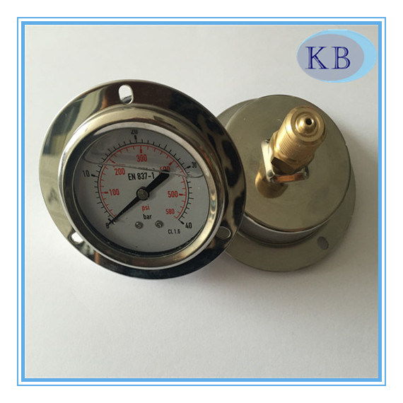 "2.5"" S. Steel Manometer Oil Filled Best Qualitity"