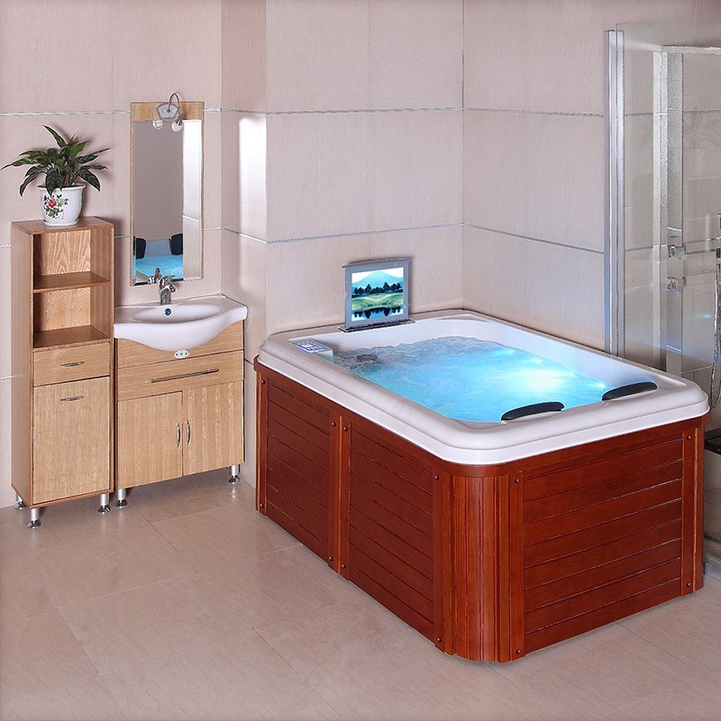 China Body Massage Bathtub 2 Person Mini Indoor Hot Tub Spa China Spa Tub Spa
