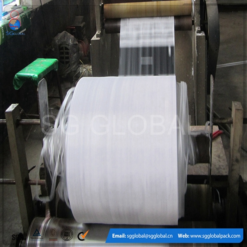 Plastic Polypropylene Woven Fabric Roll pictures & photos