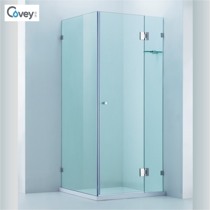 China Frameless Bathroom Shower Enclosure/Shower Cubicle with Glass ...