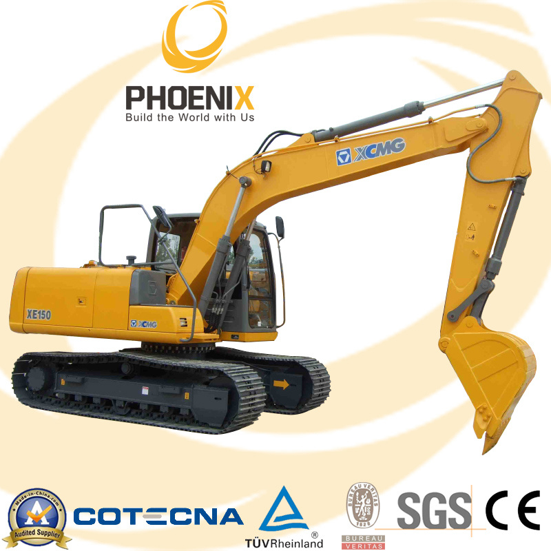 China Xe150d Crawler Excavator With 0 6 M3 Bucket Capacity China Mini Excavator 6ton Excavator