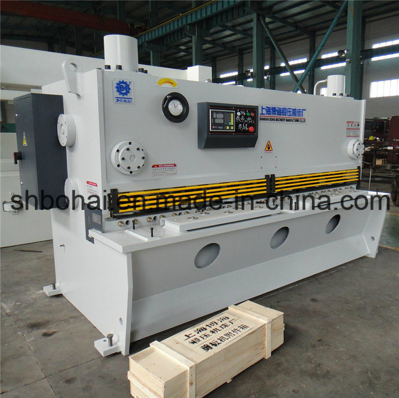 Bohai Brand CNC Hydraulic Guillotine Shearing Machine