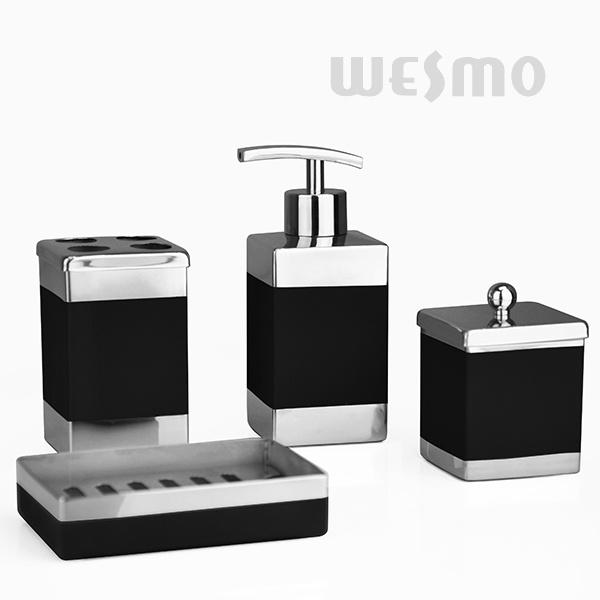 China Rectangle Shape Stainless Steel Bathroom Set Wbs0809b Bath Accessories